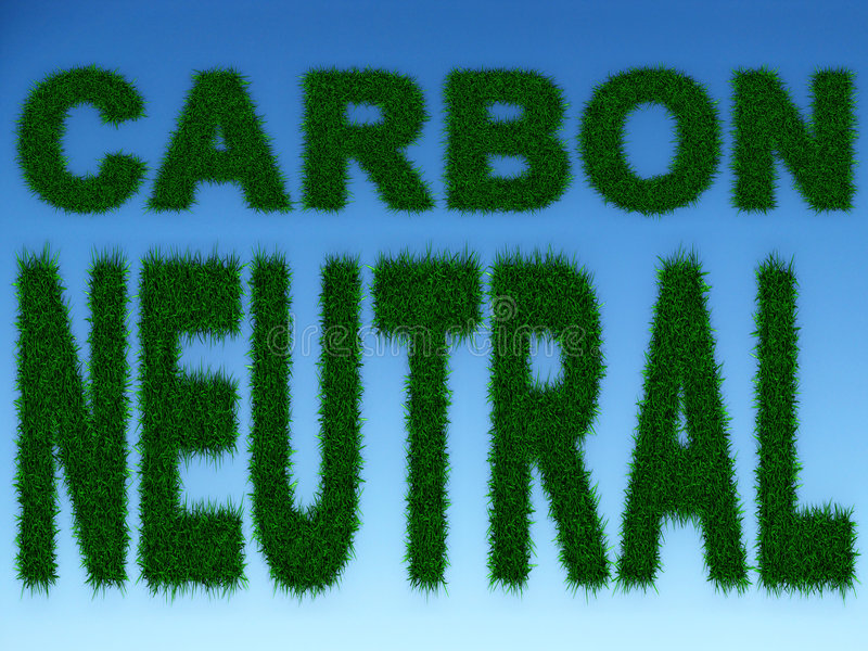 Carbon Neutral Royalty Free Stock Photography