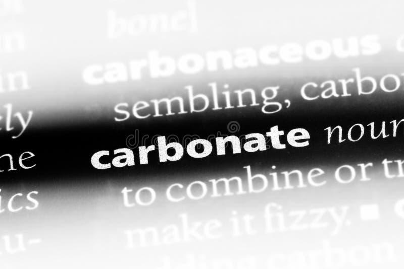 carbonate image stock