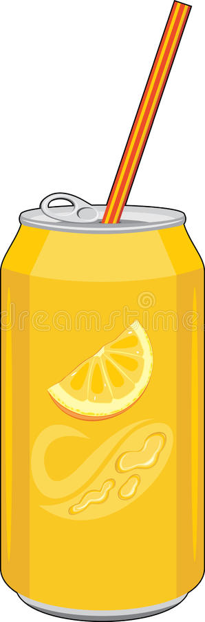 Carbonated orange drink royalty free stock image