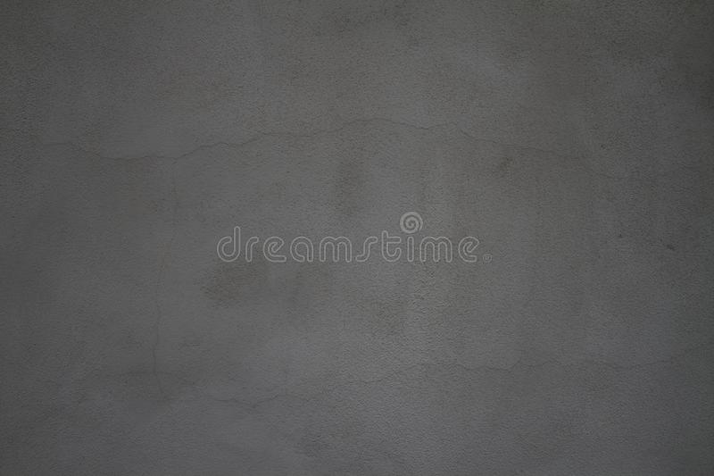 Carbone Gray Stucco Texture Background immagine stock