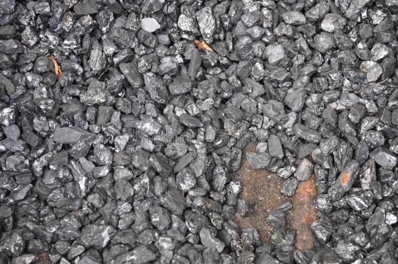 Carbones de antracita imagenes de archivo