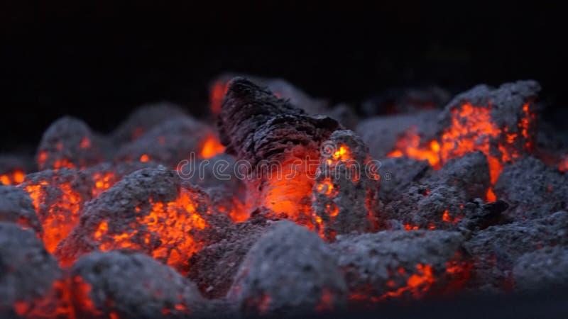 Carbono de Ncoal caliente imagenes de archivo