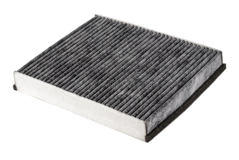 Carbono del filtro de aire de la cabina fotos de archivo libres de regalías