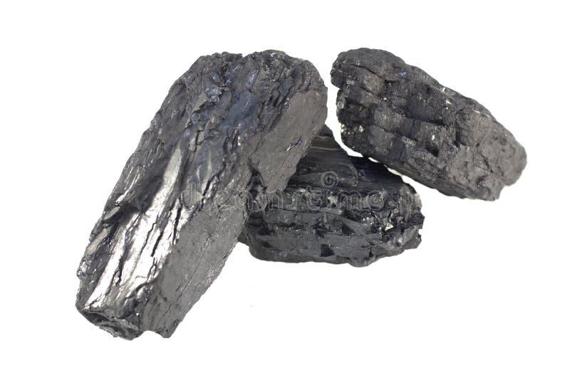 Carbono negro aislado fotografía de archivo libre de regalías