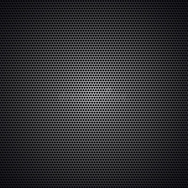 Carbono preto ilustração stock