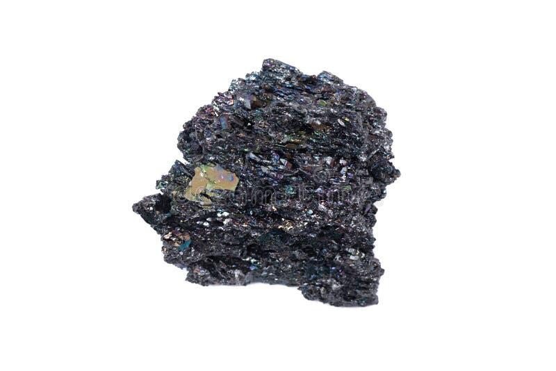 Silicon Carbide Or Carborundum Isolated On White Background