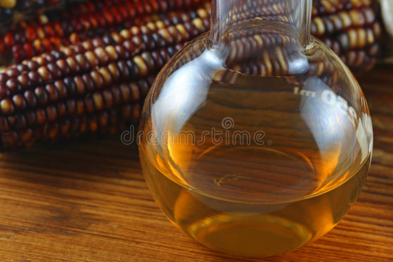 Carburant d'éthanol images libres de droits