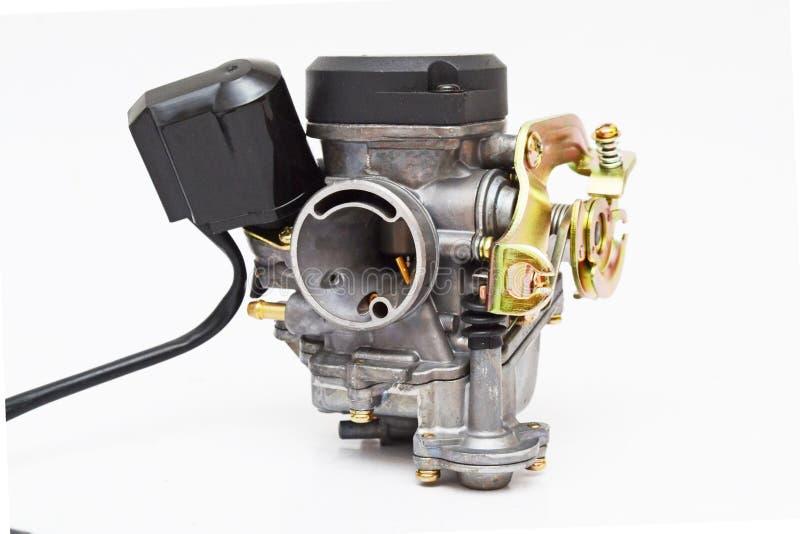 Carburateur de moteur d'essence à quatre temps photo libre de droits