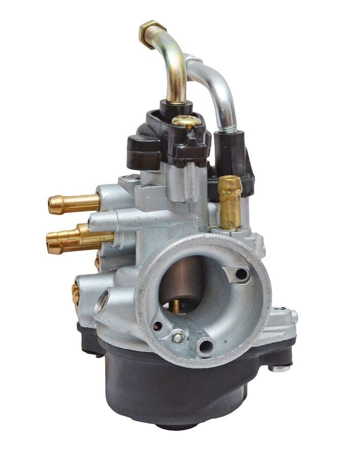 Carburateur de moteur d'essence de course de deux images stock