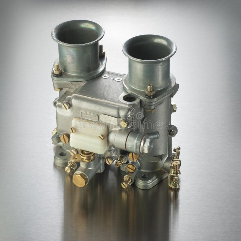 Carburateur italien d'automobile images libres de droits