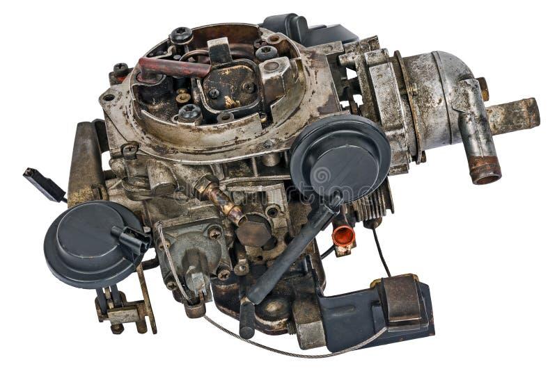 Carburateur utilisé image libre de droits