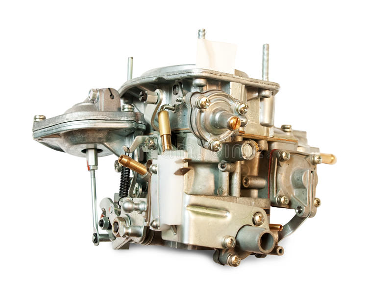 Carburetor from car royalty free stock image