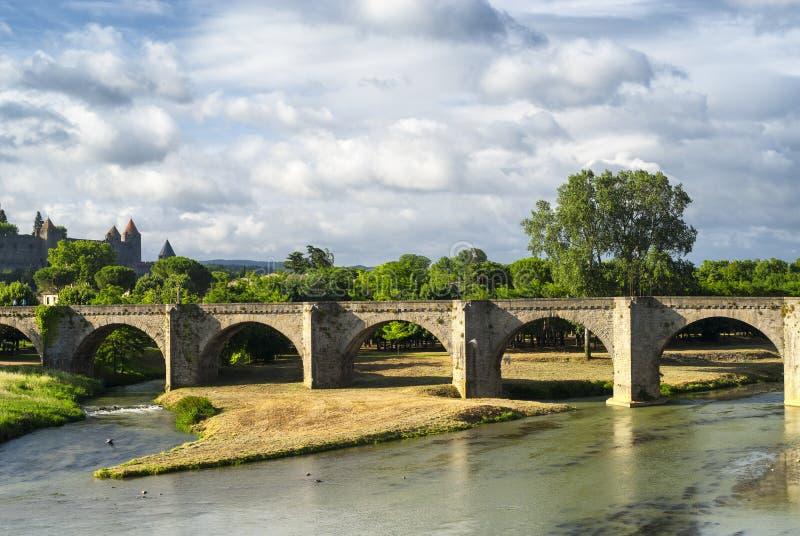 Carcasona (Aude, Francia) fotografía de archivo