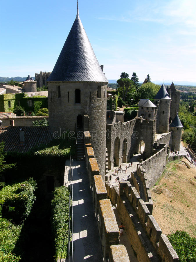 Carcassone - France royalty free stock photos