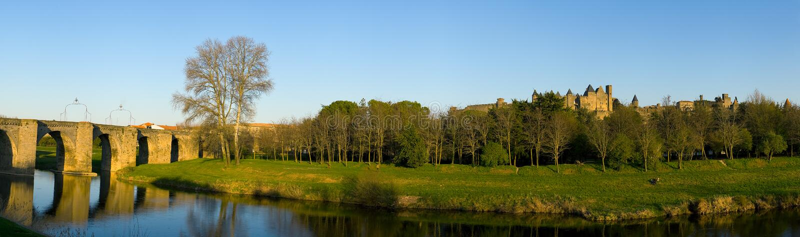 Carcassonne Γαλλία στοκ φωτογραφία