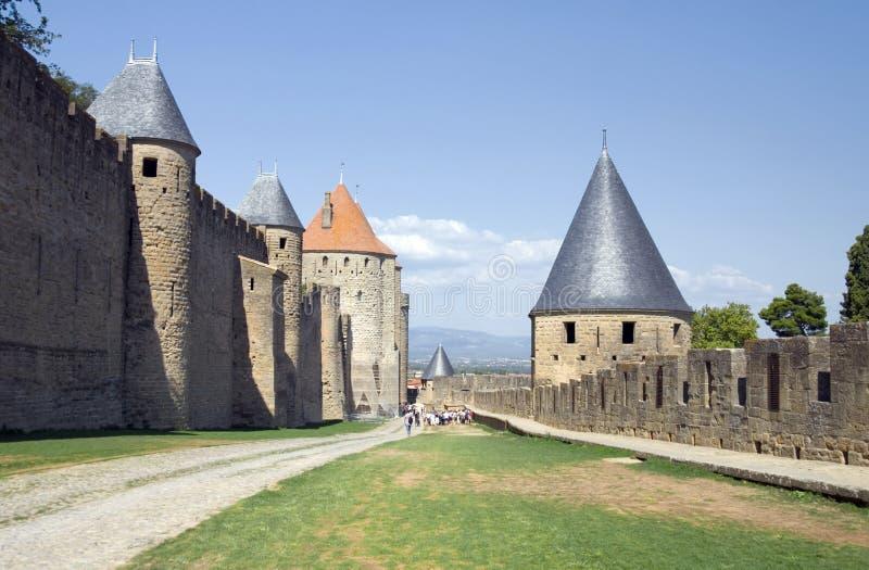 carcassonne стоковое изображение rf