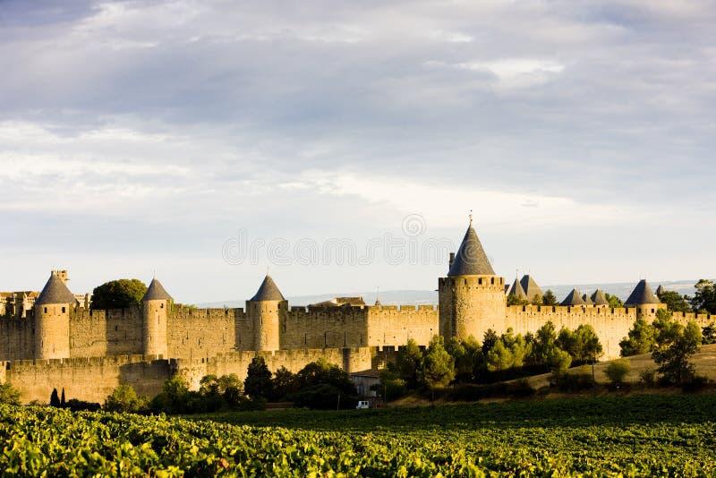 Carcassonne stockbilder