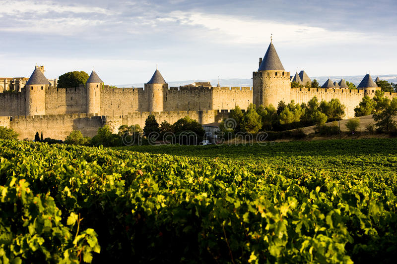 Download Carcassonne stock image. Image of fortress, ancient, fortresses - 12841479