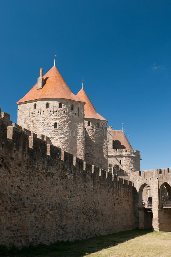 Carcassonne fotografia de stock royalty free