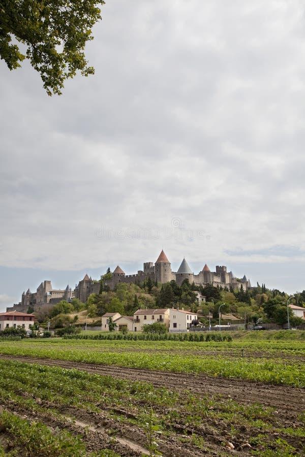 Carcassonne stock image