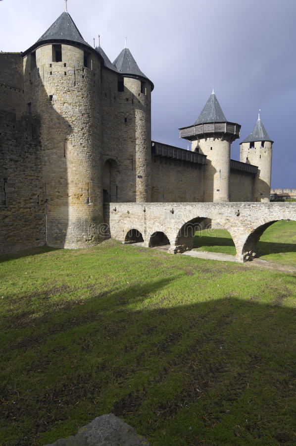 Download Carcassonne stock photo. Image of defense, fortress, built - 22505508