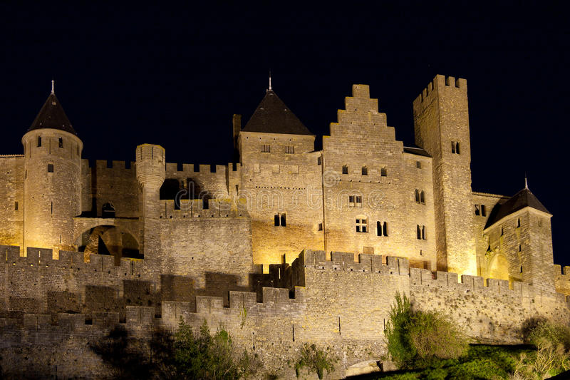 Carcassonne royalty-vrije stock foto