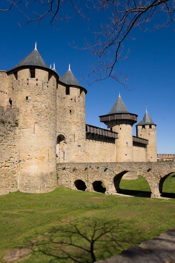 Carcassonne stock afbeeldingen