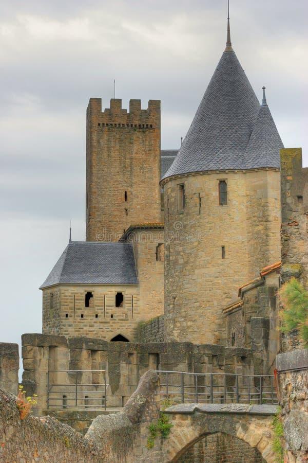 carcassonne стоковые фото
