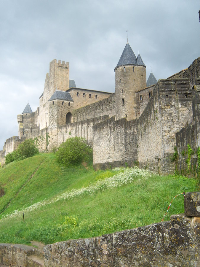 Download Carcassonne. stock image. Image of housing, medieval, castle - 8736039