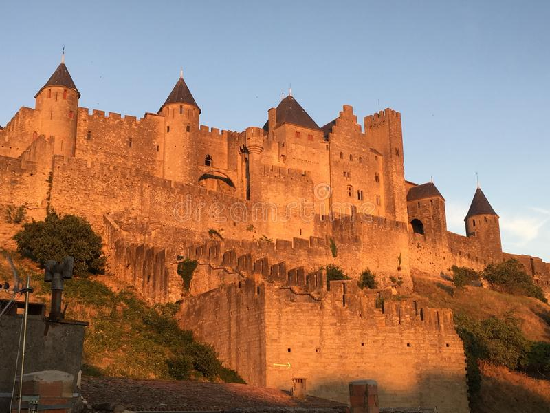 Carcassonne obrazy royalty free