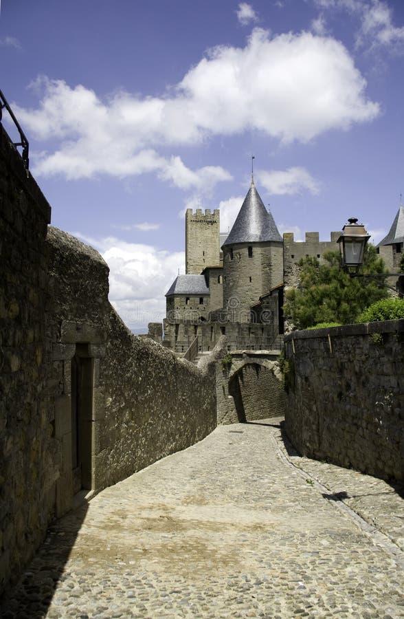 carcassonne cit de zdjęcia stock