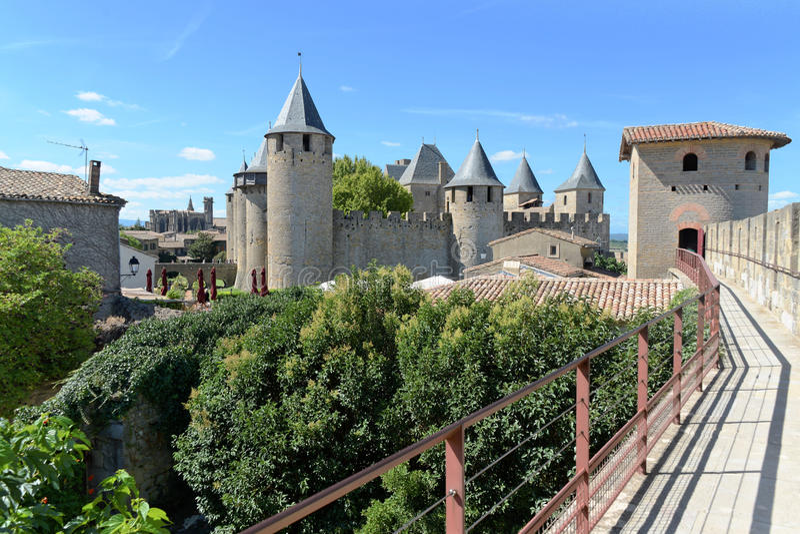 Carcassonne stock photos