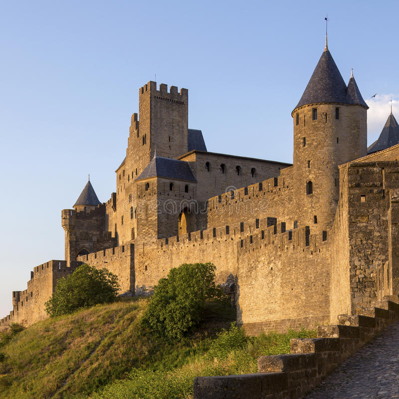 Download Carcassonne Fortress - France Stock Image - Image: 31060623