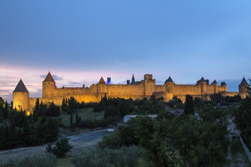 Carcassonne - France stock image