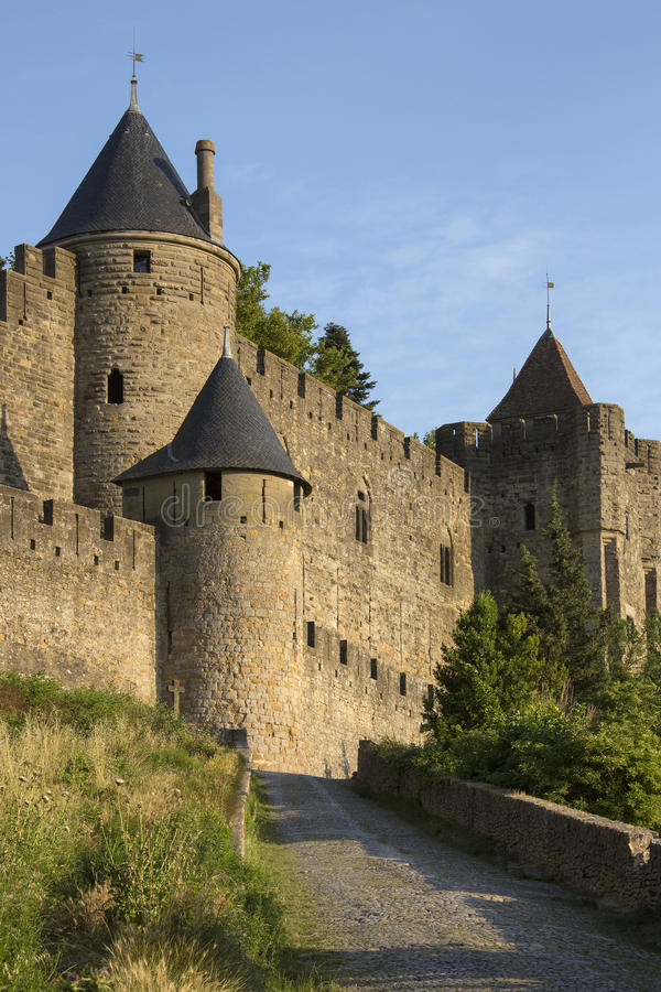 Download Carcassonne - France stock photo. Image of sightseeing - 26610870
