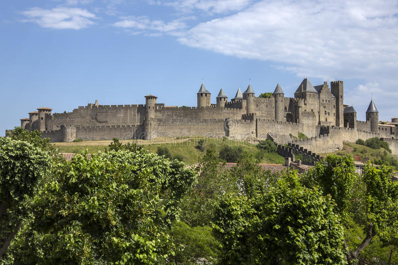 Carcassonne - France Royalty Free Stock Images