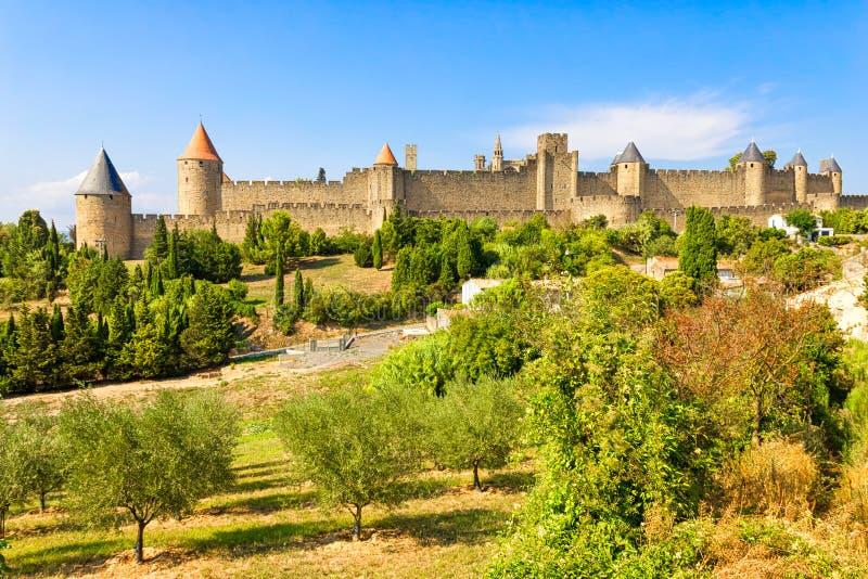 Carcassonne, France photographie stock libre de droits