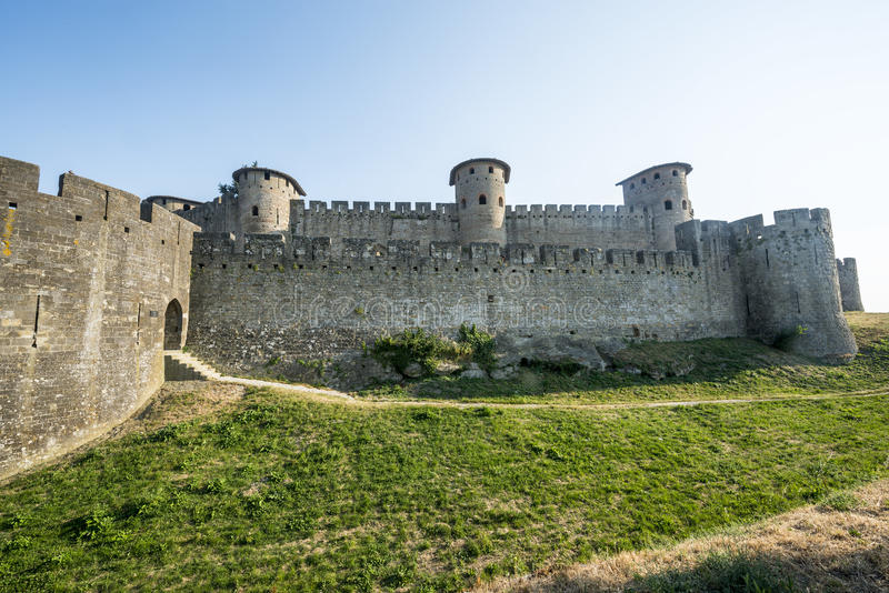 Download Carcassonne (France) stock photo. Image of summer, exterior - 34503738
