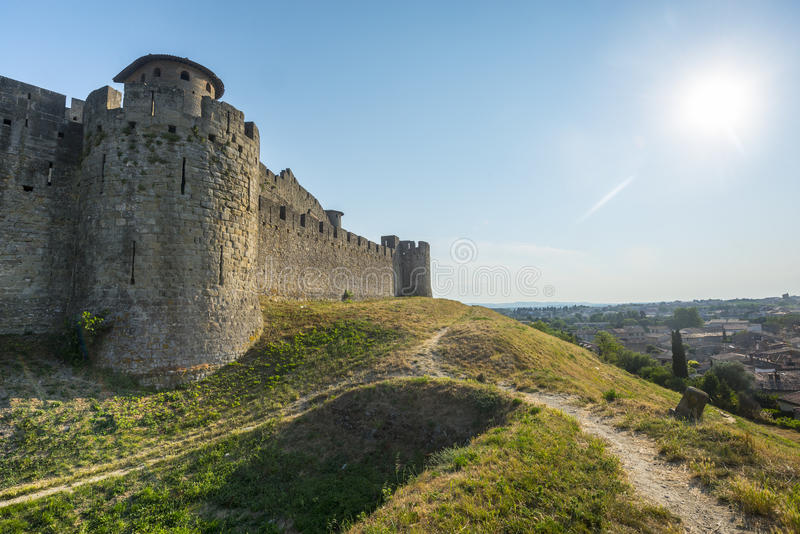 Download Carcassonne (France) stock photo. Image of medieval, europe - 35270714