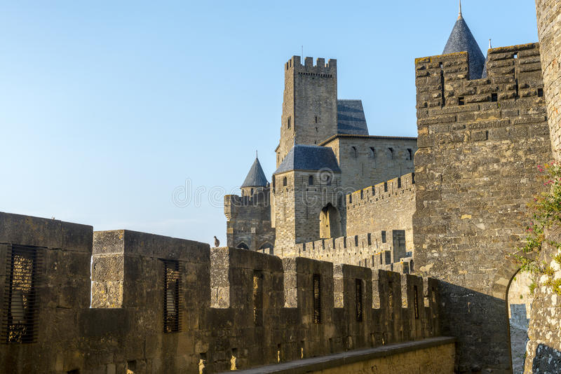 Download Carcassonne (France) stock image. Image of carcassonne - 35480159