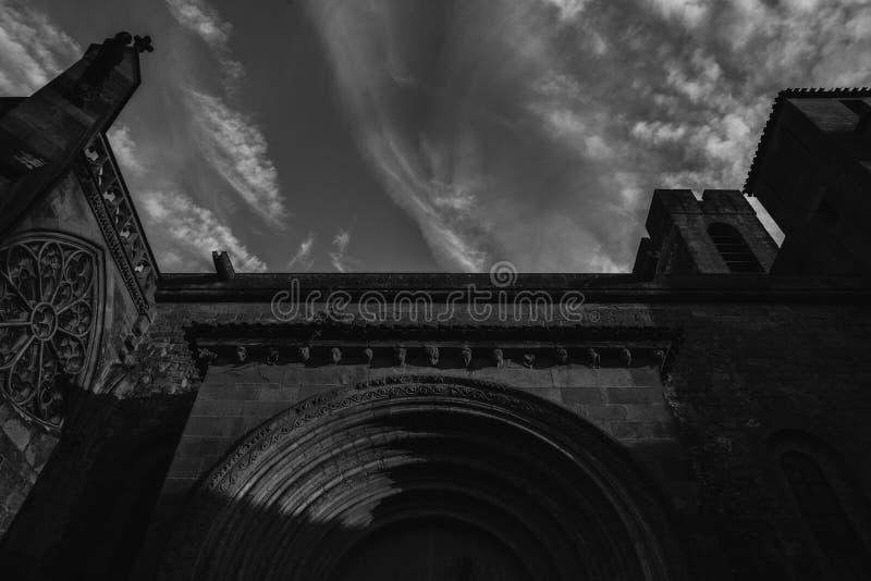 Gargoyle or gargouille - Carcassonne, France. Carcassonne, France - June 14th, 2018: Gargoyle or gargouille - Carcassonne France royalty free stock photos