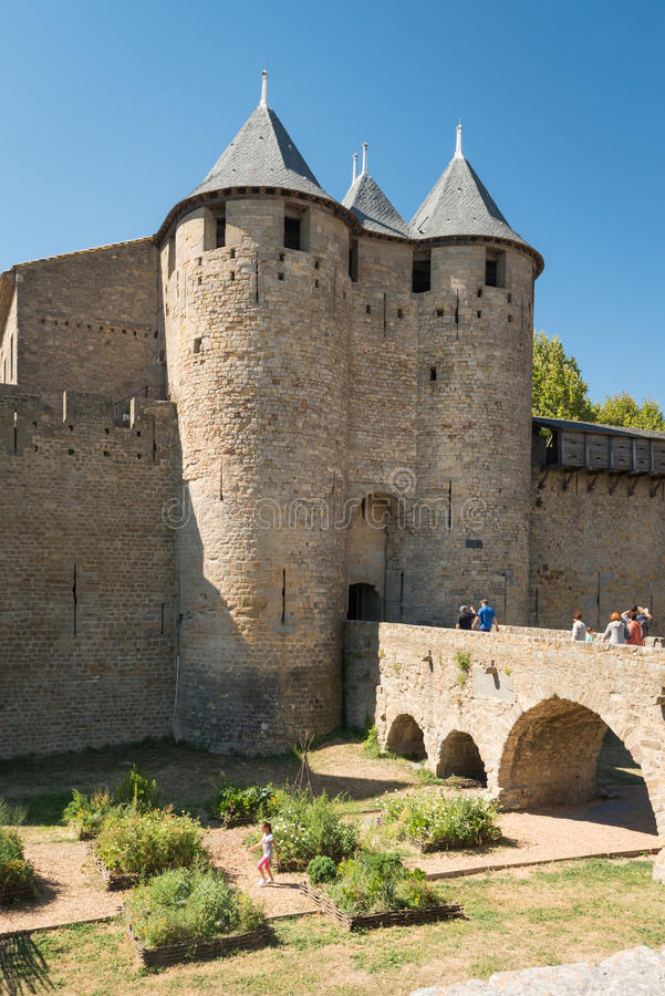 Carcassonne, France royalty free stock images