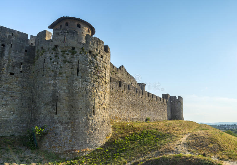 Carcassonne (Frances) images stock