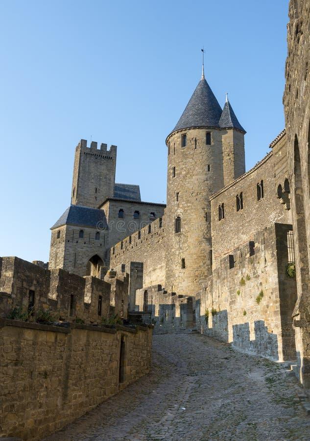 Carcassonne (Frances) photos libres de droits