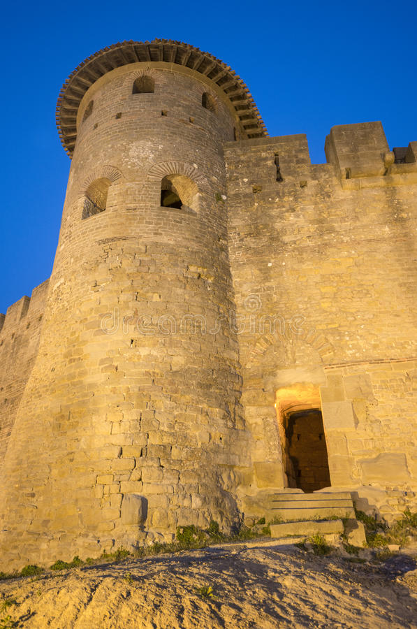 Carcassonne (Frances) photographie stock