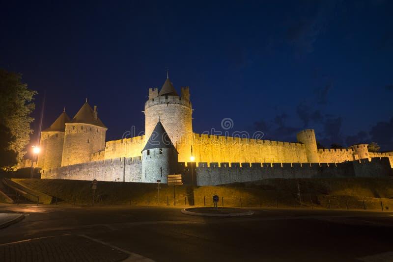 Carcassonne (Francja) obraz royalty free