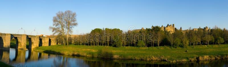 Carcassonne (Frankrijk) stock fotografie