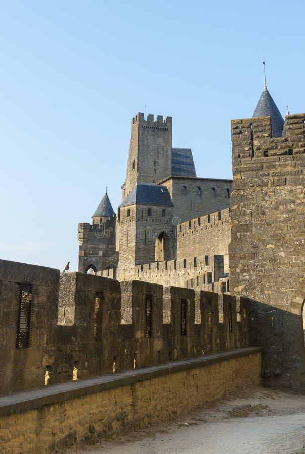 Carcassonne (Frankrike) royaltyfri fotografi