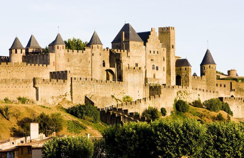 carcassonne miasto zdjęcia stock
