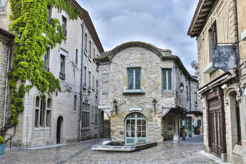 Carcassonne stock photo Image of cloudy street natural 40224754